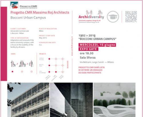 Progetto CMR ad Archidiversity