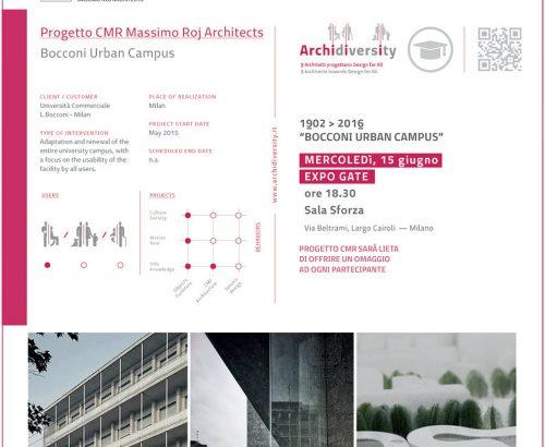Progetto CMR at Archidiversity