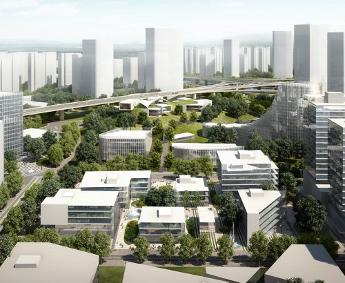 La città del futuro in Cina, a Shenzhen
