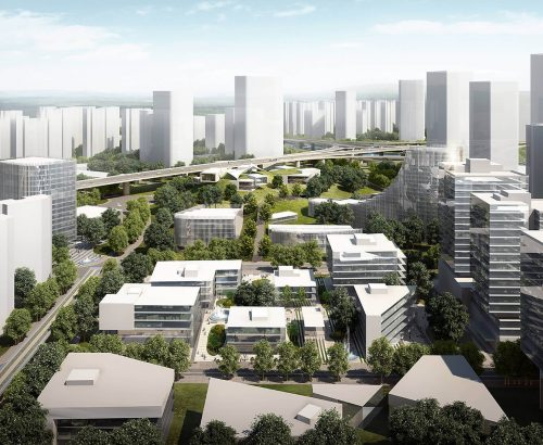 China-Europe Future City masterplan
