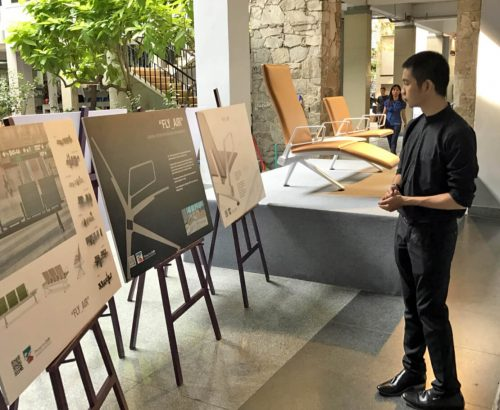 Progetto CMR e Poltrona Frau presentano Fly_Air in Vietnam