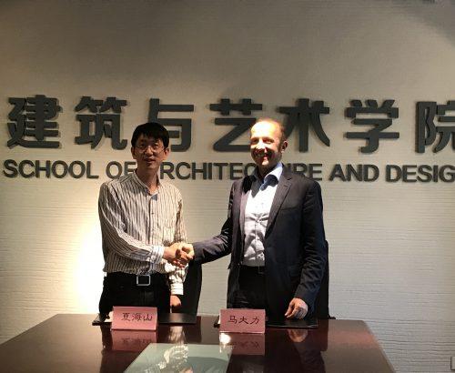 Progetto CMR firma accordo strategico con Beijing Jiaotong University
