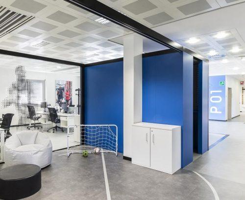 Retail e brand identity nei nuovi uffici di Adidas a Monza