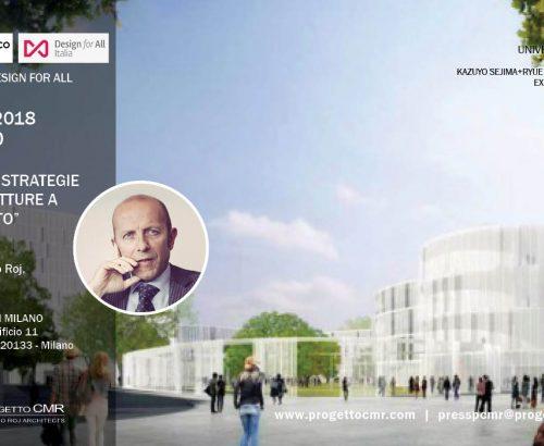 Design for All – Massimo Roj tra i main speaker