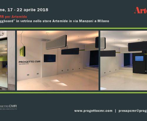 Fuorisalone 2018: Progetto CMR per Artemide