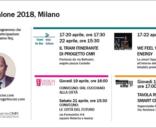 Fuorisalone 2018: all the events where you could find Progetto CMR