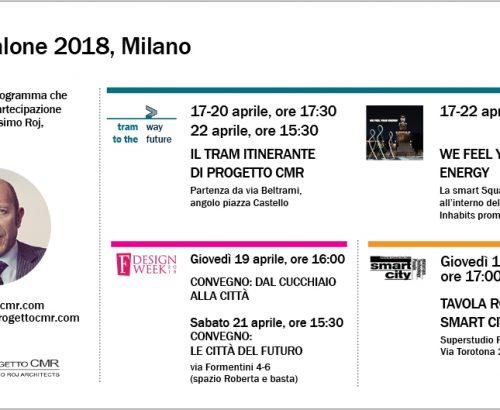 Fuorisalone 2018: gli eventi che vedranno la partecipazione di Massimo Roj