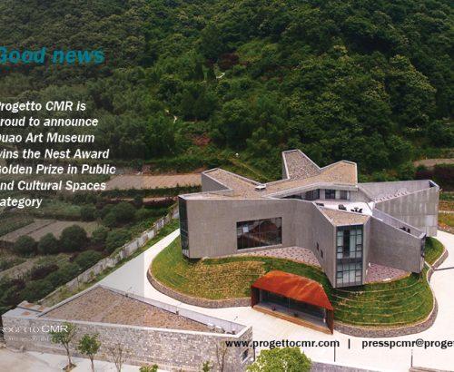 Duao Art Museum vince il Nest Award Golden Prize