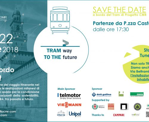 Save the date: Tram way to the future by Progetto CMR comes back for Fuorisalone 2018