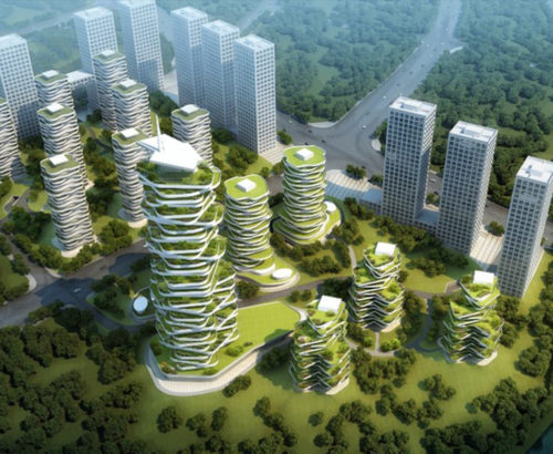 Chongqing Jihua Yuelai Eco-Oxygen Tower Project