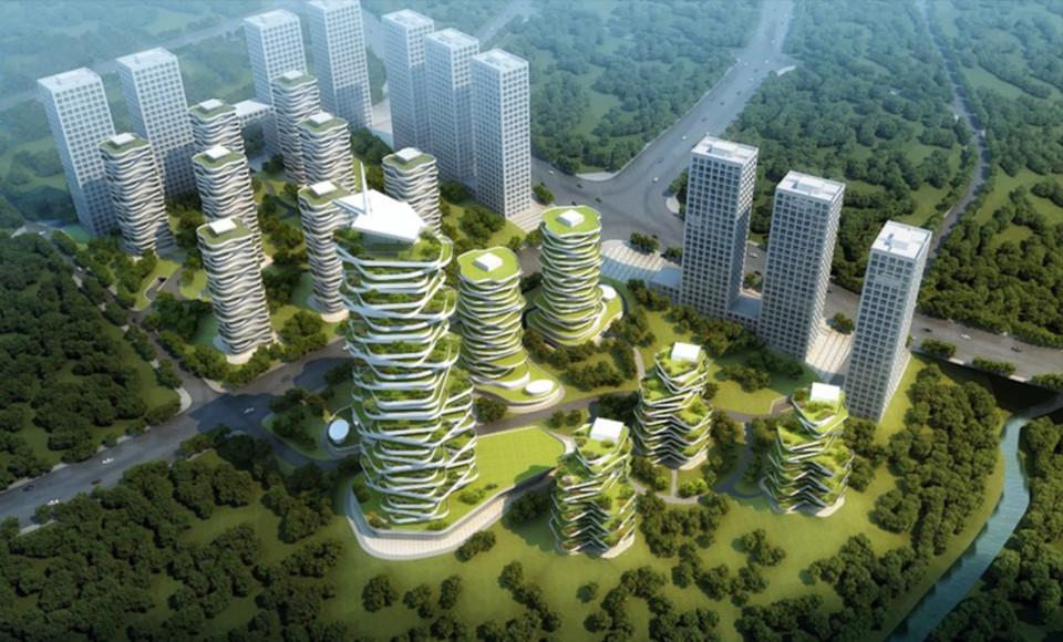 Chongqing Jihua Yuelai Eco-Oxygen Tower Project | Progetto ...