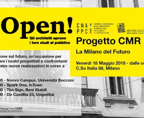 Progetto CMR joins Studi Aperti 2018