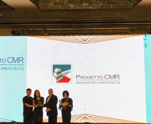 """The Italian Lifestyle Panda Award"" to Progetto CMR"