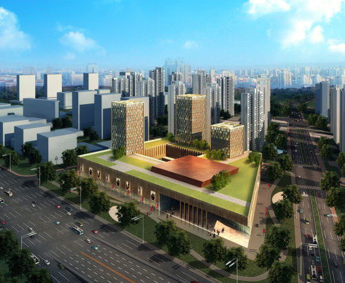 Tianjin Jie Fang South Road Commercial