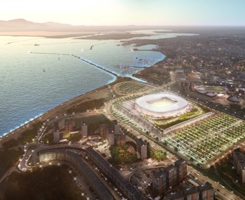 EcoTechGreenAward al progetto del nuovo stadio del Cagliari Calcio