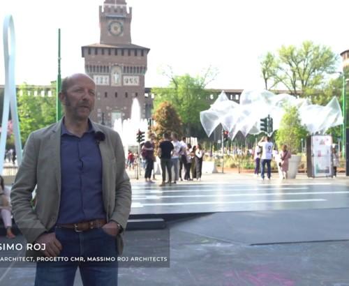 Fuorisalone 2018 – TV Architect interviews Massimo Roj at the Smart Square