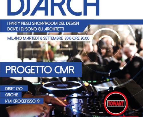 Progetto CMR show at DJARCH 2018