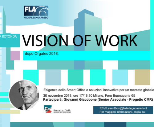 "Progetto CMR to speak at ""Visions of Work"""
