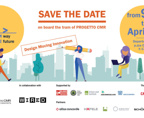Save the date: Tram way to the future by Progetto CMR comes back for Fuorisalone 2019