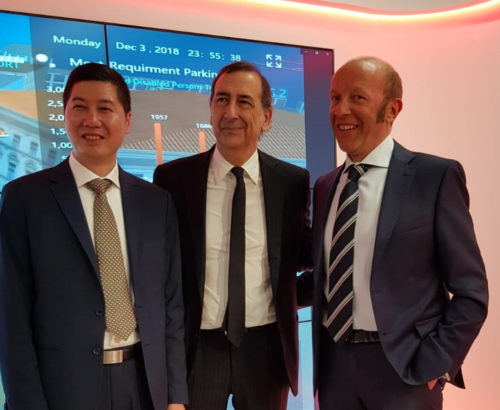Progetto CMR and Huawei inaugurate the new hub in the presence of the institutions