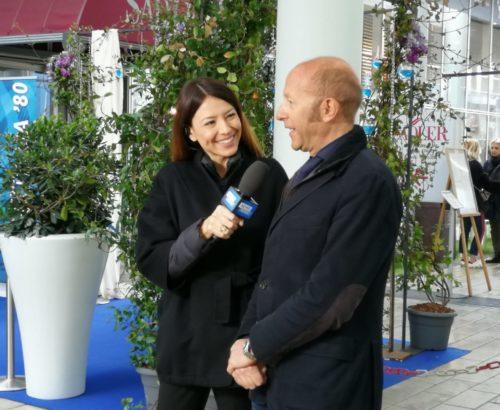 Massimo Roj intervistato da Paola Cambiaghi per Mediaset TGCOM 24