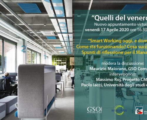 """""""Distance Workshop"""" la contemporaneità dello smart working"""