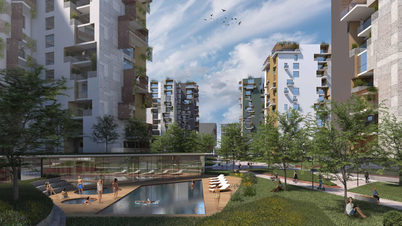 Former Baslini Area | Progetto CMR - Massimo Roj Architects