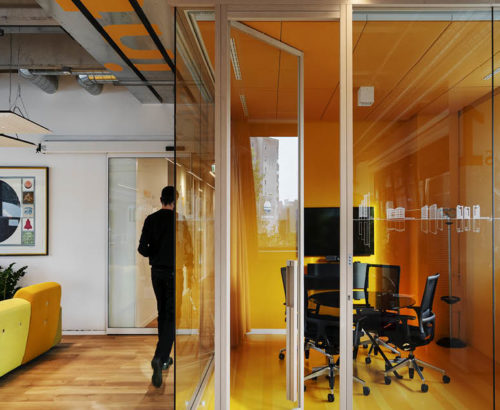 The support of design for a new workspace idea