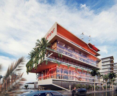 Nuovo Headquarters Free a Dakar